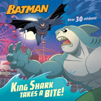 Book cover for King Shark Takes a Bite! (DC Super Heroes: Batman)