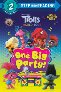 Book cover for One Big Party! (DreamWorks Trolls World Tour)