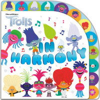 Book cover for In Harmony (DreamWorks Trolls)