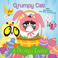 Book cover for A Grumpy Easter (Grumpy Cat)