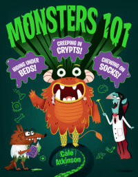 Cover of Monsters 101 cover