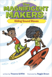 Book cover for The Magnificent Makers #3: Riding Sound Waves