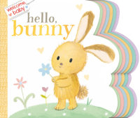 Book cover for Welcome, Baby: Hello, Bunny