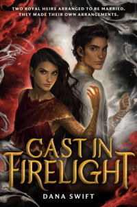 Cover of Cast in Firelight cover