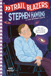 Cover of Trailblazers: Stephen Hawking cover