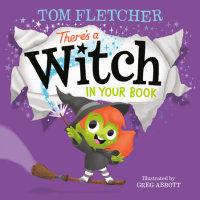 Book cover for There\'s a Witch in Your Book