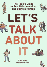 Book cover for Let\'s Talk About It