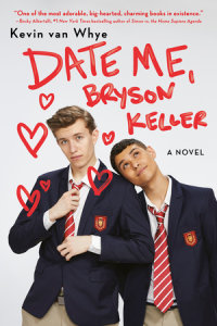 Book cover for Date Me, Bryson Keller