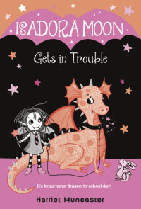 Book cover for Isadora Moon Gets in Trouble