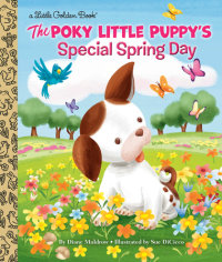 Book cover for The Poky Little Puppy\'s Special Spring Day