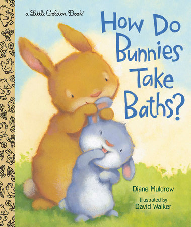 How Do Bunnies Take Baths?