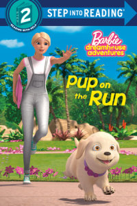 Book cover for Pup on the Run (Barbie)
