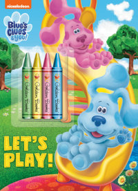 Book cover for Let\'s Play! (Blue\'s Clues & You)