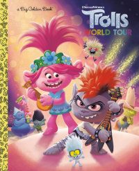 Book cover for Trolls World Tour Big Golden Book (DreamWorks Trolls World Tour)
