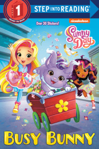 Book cover for Busy Bunny (Sunny Day)