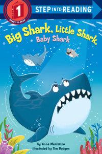 Book cover for Big Shark, Little Shark, Baby Shark
