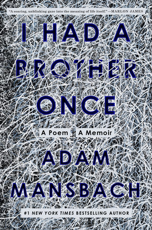 I Had a Brother Once book cover