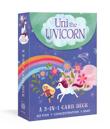 Uni the Unicorn: A 3-in-1 Card Deck