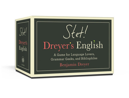 STET! Dreyer's English