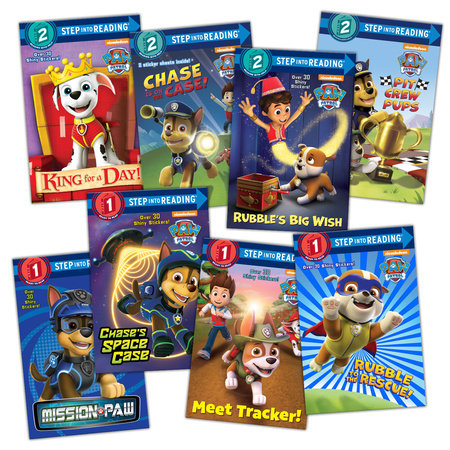 Paw Patrol Step Into Reading Set