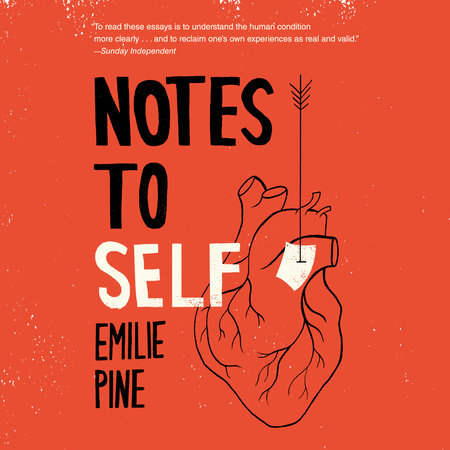 Notes to Self book cover