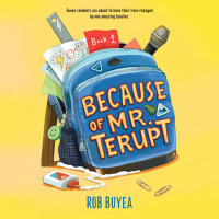 Cover of Because of Mr. Terupt cover