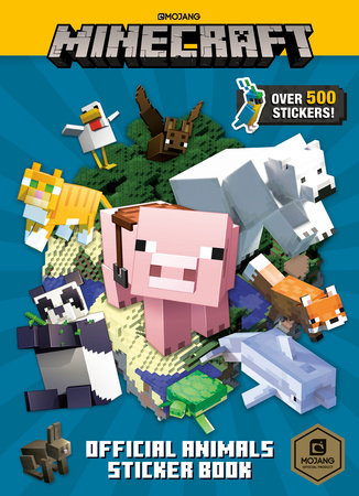 Minecraft Official Animals Sticker Book (Minecraft)