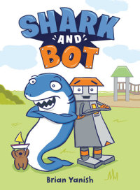 Book cover for Shark and Bot