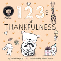 Book cover for 123s of Thankfulness