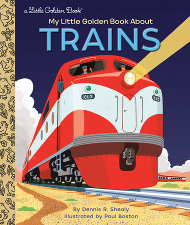 My Little Golden Book About Trains