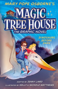 Cover of Dinosaurs Before Dark Graphic Novel cover