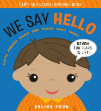 Book cover for We Say Hello