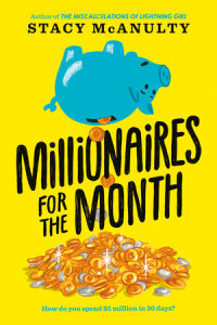 Book cover for Millionaires for the Month