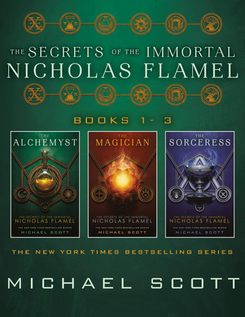 The Secrets of the Immortal Nicholas Flamel, Books 1-3