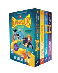 Book cover for Mr. Lemoncello\'s Library Books 1-4 (Boxed Set)