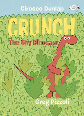 Crunch the Shy Dinosaur