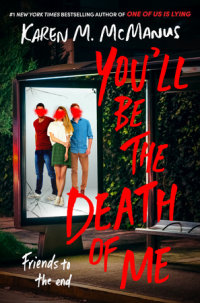 Book cover for You\'ll Be the Death of Me