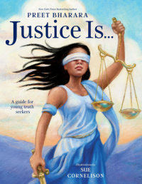 Cover of Justice Is... cover