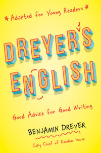 Cover of Dreyer\'s English (Adapted for Young Readers) cover