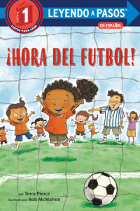 Book cover for ¡Hora del fútbol! (Soccer Time! Spanish Edition)