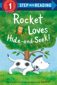Cover of Rocket Loves Hide-and-Seek! cover