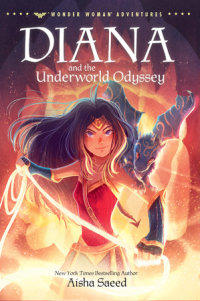 Book cover for Diana and the Underworld Odyssey