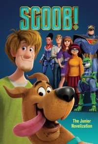 Book cover for SCOOB! Junior Novelization (Scooby-Doo)