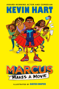 Book cover for Marcus Makes a Movie