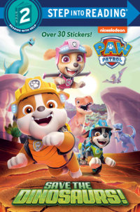 Book cover for Save the Dinosaurs! (PAW Patrol)