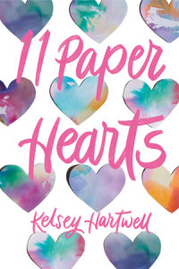 Book cover for 11 Paper Hearts