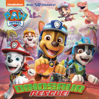 Cover of Dinosaur Rescue! (PAW Patrol)