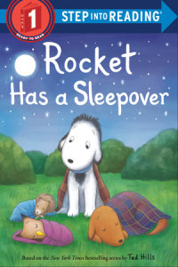 Cover of Rocket Has a Sleepover cover