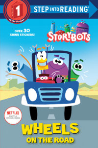 Book cover for Wheels on the Road (StoryBots)
