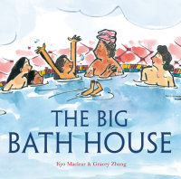Cover of The Big Bath House cover